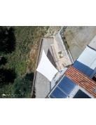 SolariA - das beste Sonnensegel mit Radialschnitt