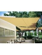 EasyShade Luftdurchlässiges Sonnensegel - idealer Schutz vor Sonne, Wind, Hagel
