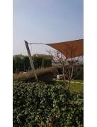 Alu Simple - unser berseter Mast für Sonnensegel