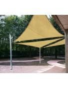 Mast für Sonnensegel Alu-Simple mit Wandbefestigung